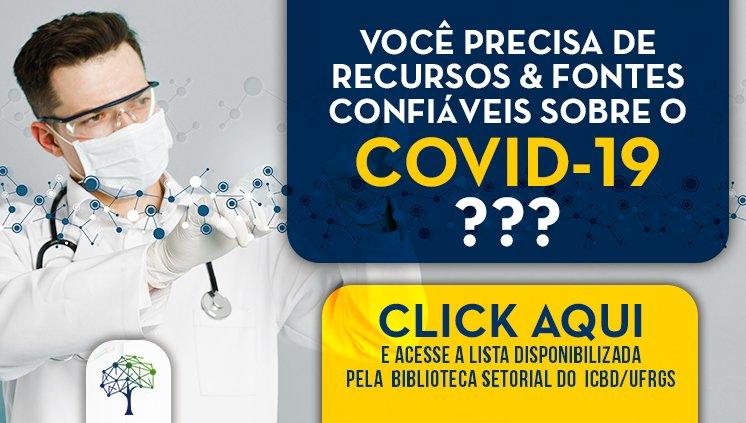 COVID-19: recursos e fontes de informação
